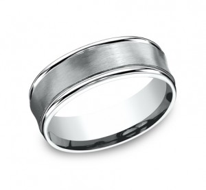 Benchmark 14K Wedding Band #RECF87500