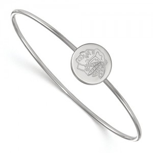 Chicago Blackhawks - Sterling Silver Bracelet